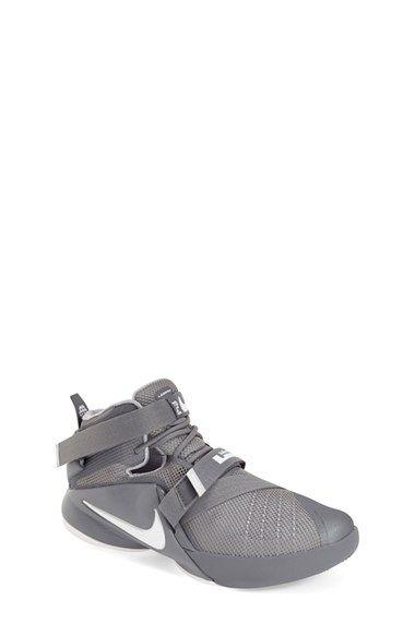 Nike 'LeBron Soldier 9' Basketball Shoe (Big Kid)