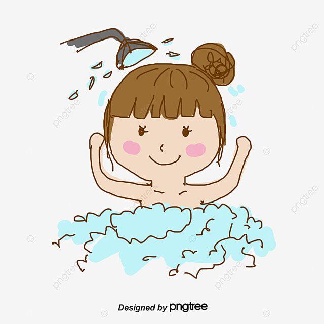 หญ งสาวผมชมพ อาบน ำ อาบน ำภาพต ดปะ ผมเวกเตอร สาวเวกเตอร ภาพ Png และ Psd สำหร บดาวน โหลดฟร ในป 2021 ด นสอส อ างอาบน ำ