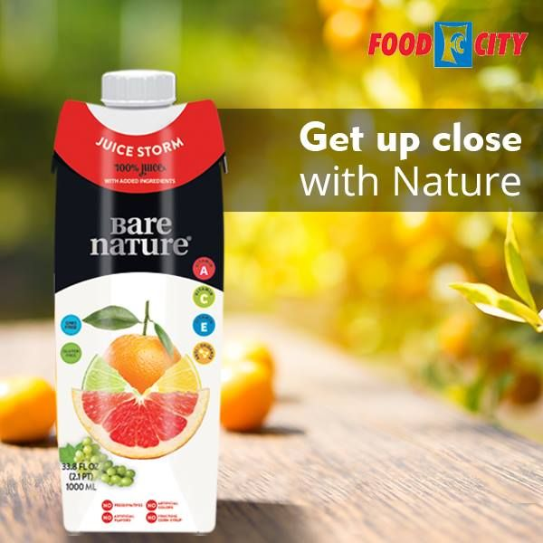 Tired Of Drinking Same Old Orange Juice Switch It Up With Bare Nature 100 Juice Storm Enjoy The Burst Of Flavors Better Breakfast Natural Food Food Industry