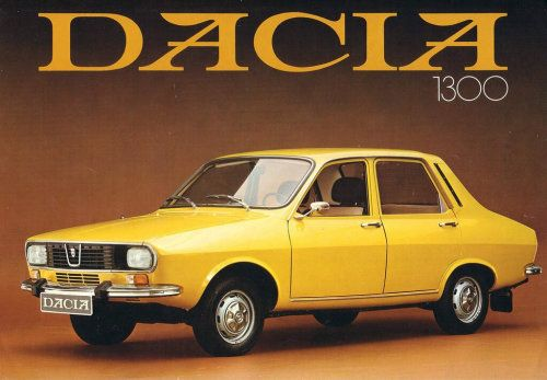 La Dacia 1300
