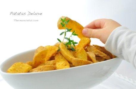 Unas irresistibles patatas deluxe para enriquecer vuestros platos Thermomix
