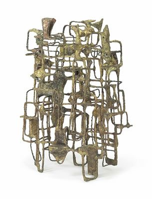 Ibram Lassaw - Artist, Fine Art Prices, Auction Records for Ibram Lassaw