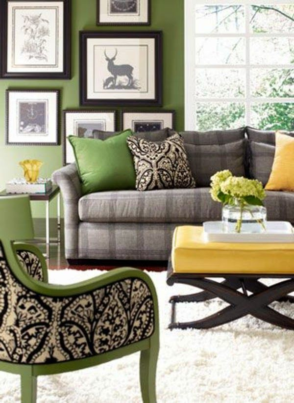 109 best gray and mirrored furniture images on pinterest for Grey living room furniture ideas