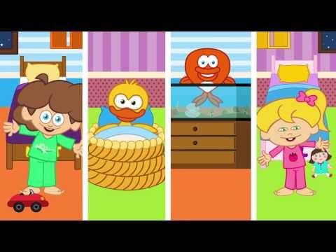 Koş Kendi Yatağına - Sevimli Dostlar Eğitici Çizgi Film Çocuk Şarkıları - YouTube