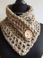 #sjaal #haakpatroon #patroon #haken #gehaakt #crochet #pattern #scarf #shawl #DIY #recht #col #kraag