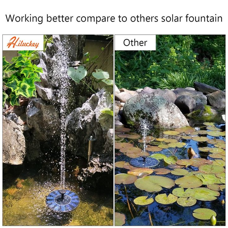 Die besten 25+ Solarbetriebene wasserspielpumpe Ideen auf - poolanlagen im garten