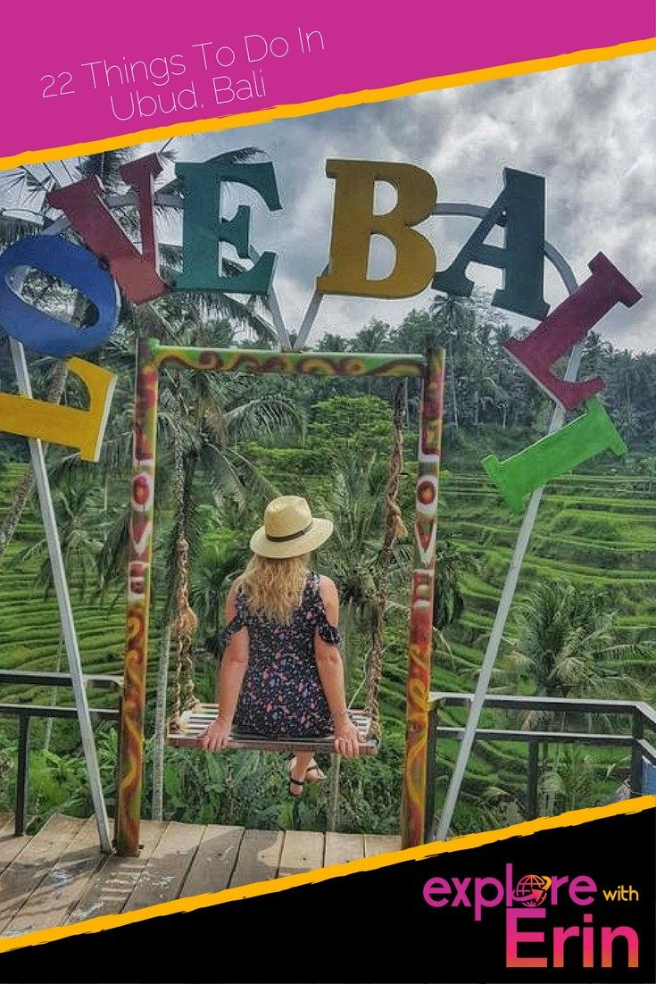 Pin this! The 22 BEST Things To Do In Ubud - Love Bali
