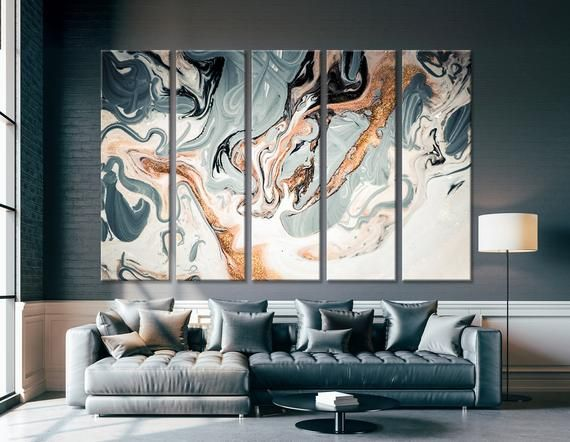 Marble Wall Art Marble Canvas Print Trendy Wall Decor Modern Wall Art Modern Marble Print Modern Wall Decor Marble Wall Trendy Wall Decor
