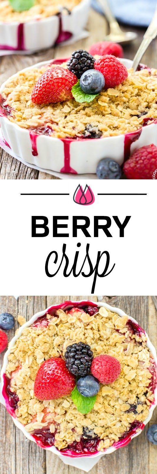 Quadruple Berry Crisp!