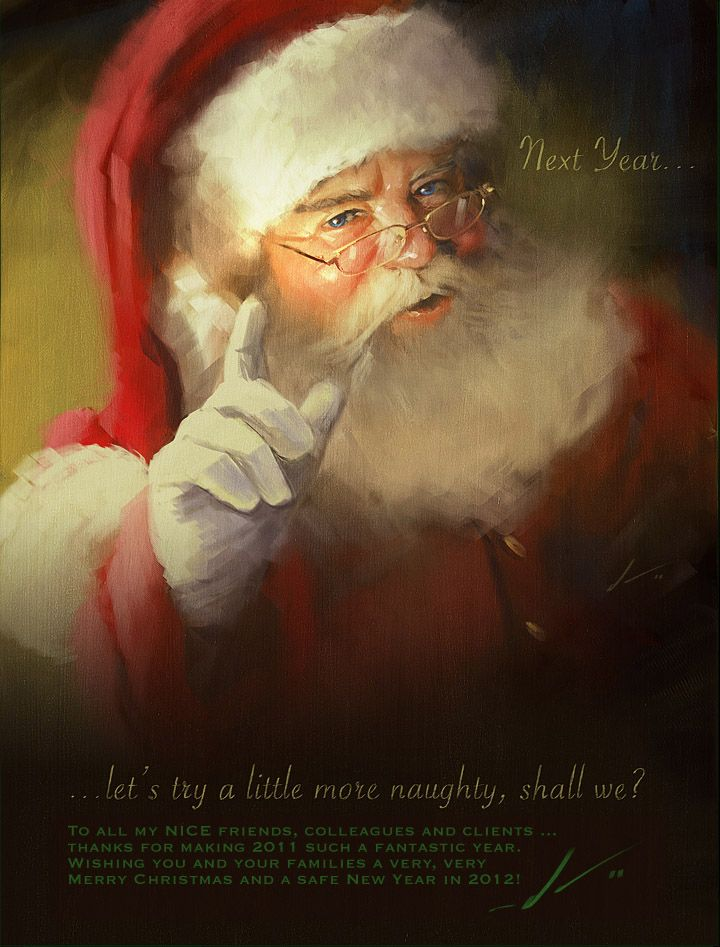 Next year . . . a little more naughty