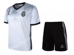 2017-18  Juventus  European Champion White Soccer Uniform