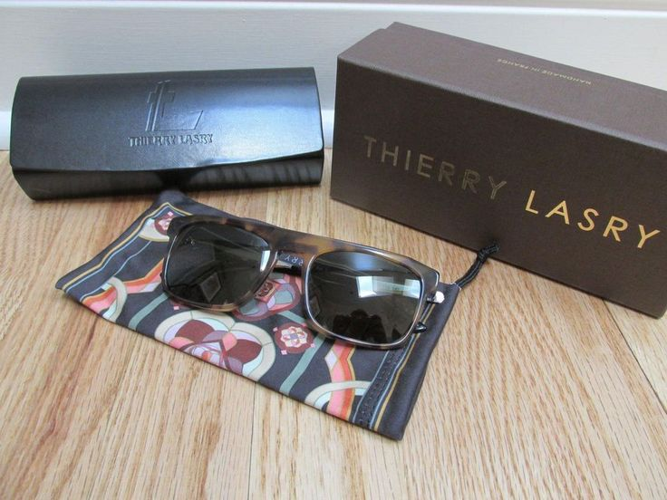 Thierry Lasry Women's Sunglasses Kendry Square Frame Tortoiseshell NEW #ThierryLasry