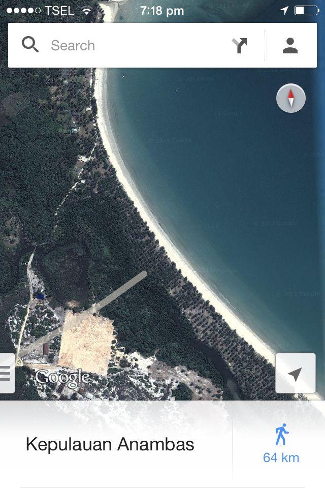 Pantai Padang Melang, Anambas Islands