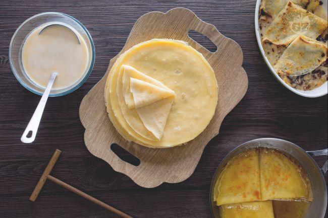 Grazie all'impasto di base delle crepes dolci e salate, potrete finalmente preparare delle crespelle perfette da farcire come preferite!