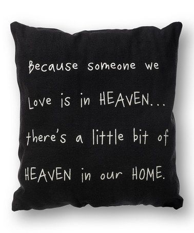 Another great find on #zulily! 'Heaven in Our Home' Throw Pillow #zulilyfinds