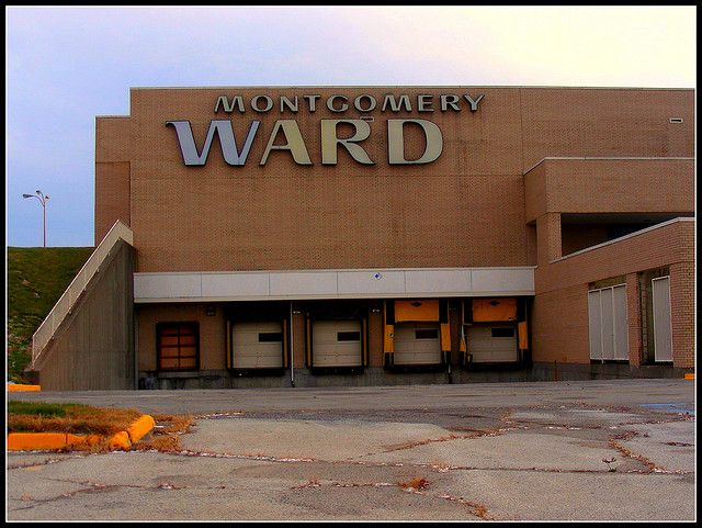 """Montgomery Wards....I used to call it """"Monkey Wards""""  when I was little."""