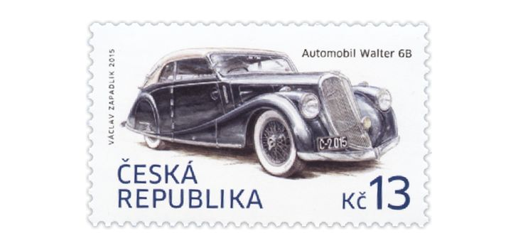 COLLECTORZPEDIA Historical Vehicles: WALTER 6B Automobile