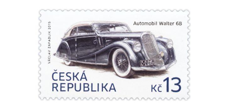 COLLECTORZPEDIA Historical Vehicles: WALTER 6B Automobile