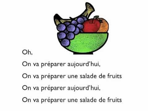 ▶ Salade de fruits (Paul Langel / Le clown Alexandre) - YouTube