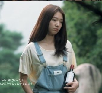 ep4 Park Shin Hye as Cha Eun Sang : americanapparel shirts [The Heirs]