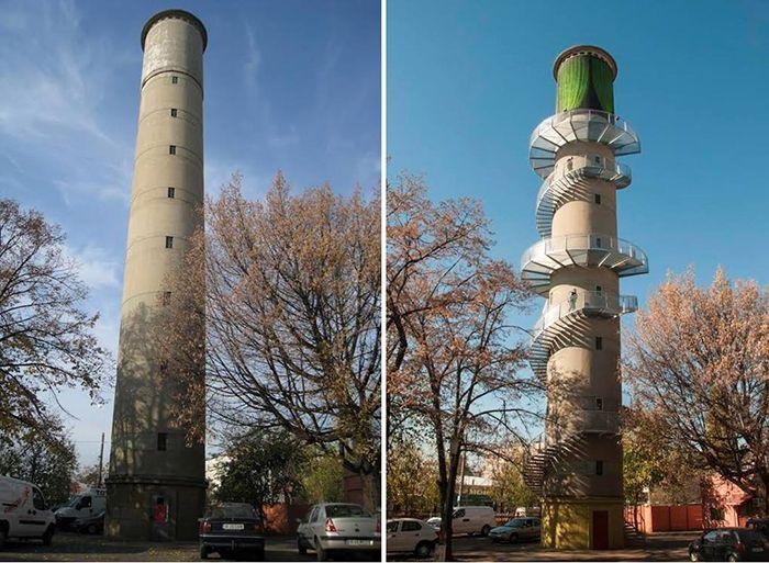 Make a Point / transformarea turnului de apă din Pantelimon într-un Turn de Artă / Confiscate sau părăsite. Regăsite și salvate. Metamorfoze spectaculoase de case vechi, conace și fabrici din România.