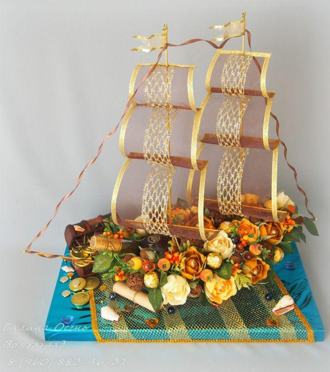 "Gallery.ru / Корабль ""Осенний юбилейный"" - Волжская флотилия - galley"