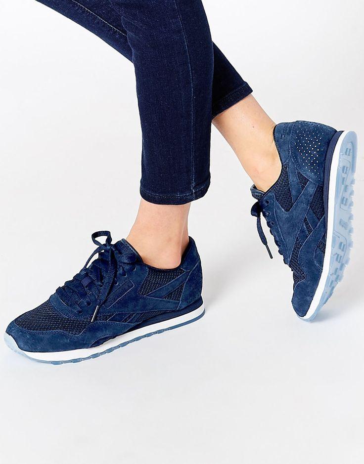 Bild 1 von Reebok – Tech – Sneakers aus Nylon und Wildleder in Marineblau