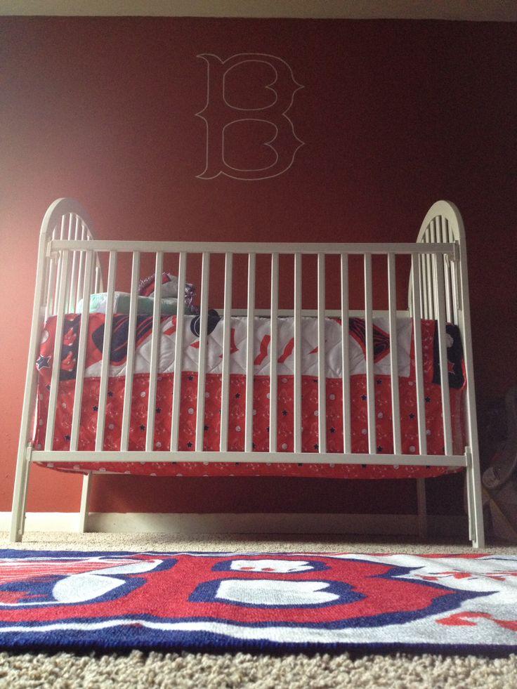 Boston red sox baby room baby room ideas pinterest for Boston red sox bedroom ideas
