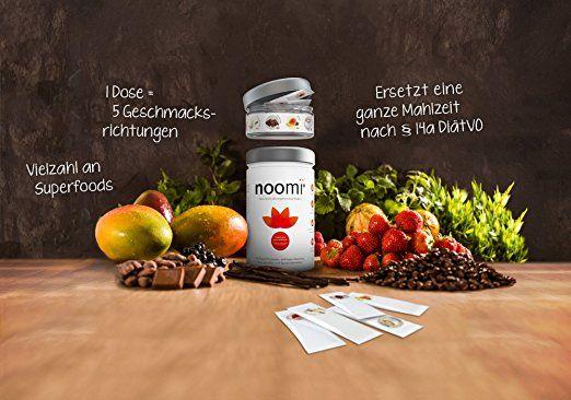 Premium Abnehm-Shake mit Superfoods   Inkl. Geschmacksvielfalt (Erdbeere, Vanille, Schokolade, Mango, Cappuccino)   Diät-Pulver und gesunder Mahlzeitenersatz