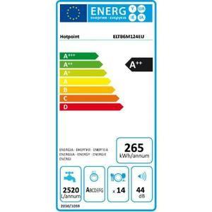 Lave-vaisselle tout intégrable 60cm  - Capacité : 14 couverts - Niveau sonore : 44dB - Classe énergétique A++ - 6 programmes
