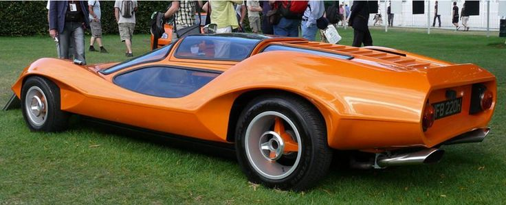 "The Adams Brother's Probe 16 concep car, UK 1969 If you're a movie fan, some of you may recognize this car. A Probe 16 was featured in Stanley Kubrik's movie ""A Clockwork Orange."" as the ""Durango"" car."