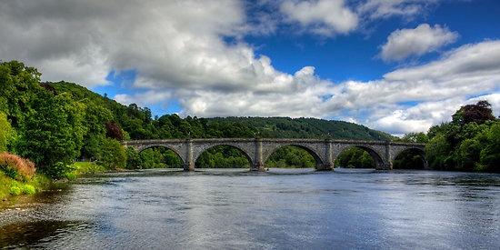 Thomas Telford's Finest Highland Bridge, Perthshire