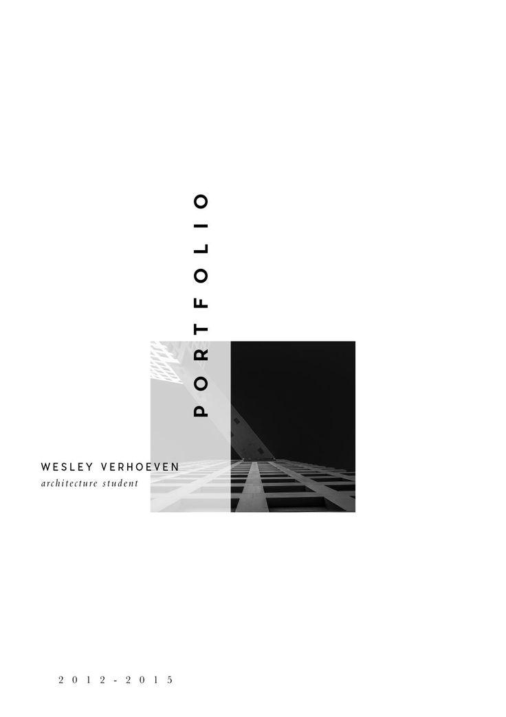 Architecture portfolio Wesley Verhoeven  Architecture portfolio of an…