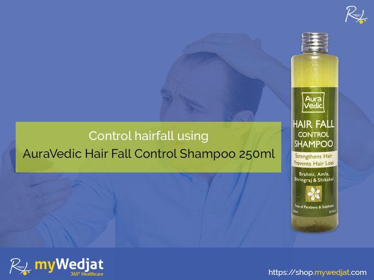 Control hairfall using AuraVedic Hair Fall Control Shampoo 250ml(AuraVedic Hair Fall Control Shampoo 250ml)