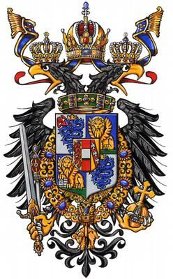 Arms of the Kingdom Lombard Venetian (1815-1866). By Marco Foppoli.