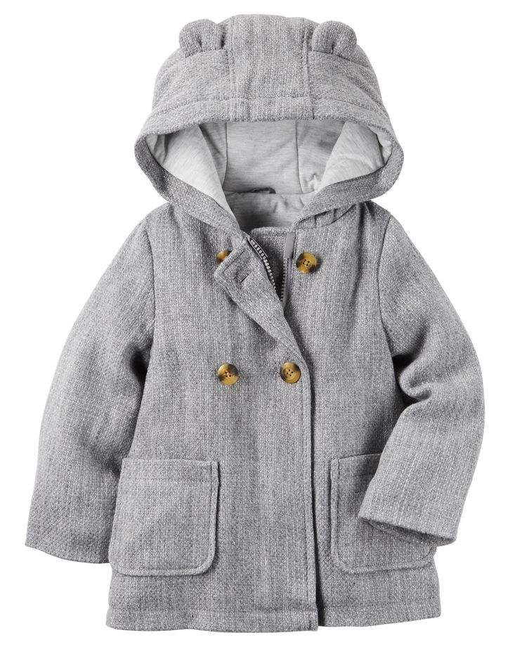 Baby Girl Wool Peacoat from Carters.com. Shop clothing & accessories from a…