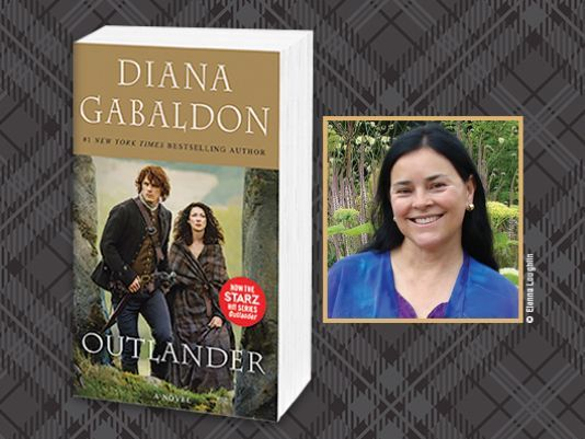 Watch for our chat with the best-selling 'Outlander' author on April 7.