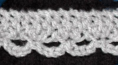 Loom Knit Lace Edging Tutorial Loom Knitting