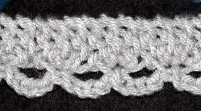 Loom Knit - Lace Edging tutorial | Loom Knitting ...