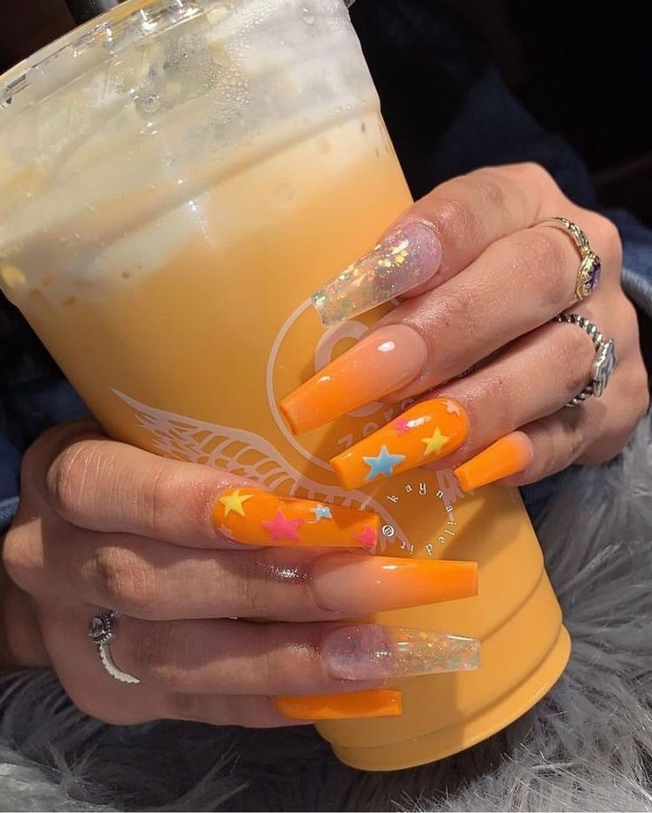 "❥ Nail Acc. ❥ on Instagram: ""🧡🧡 – Follow @jawnnails for more nail po…"