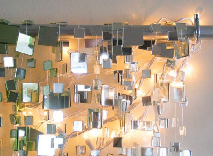 Winter Sparkle Mirror Garland