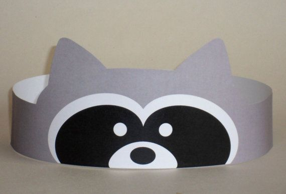 Hey, I found this really awesome Etsy listing at https://www.etsy.com/listing/158540905/raccoon-crown-printable