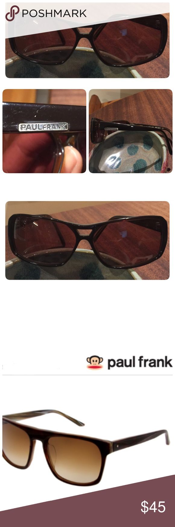 Paul Frank Sunglasses The Semi-Rectangle Sunglasses from Paul Frank are stylish for men and women. Light wear as photographed. Paul Frank Accessories Sunglasses