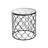 Found it at Temple & Webster - Round Filigree Side Table