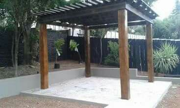 Terrace Pergola - Call us for a free quotation @ 061 430 4543 www.thepergoladepot.co.za