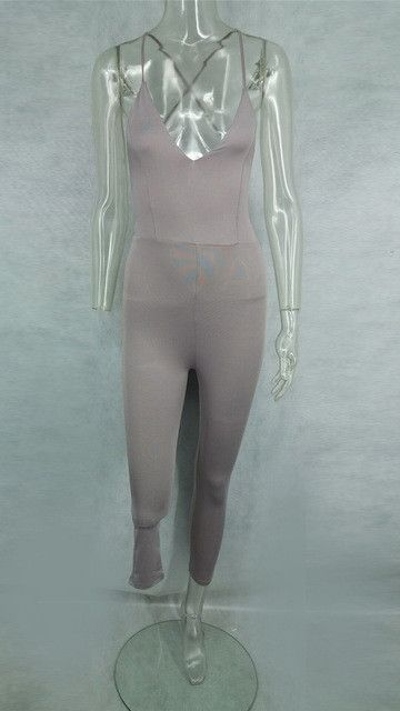 OHVERA Tight Fitted Jumpsuits LDHJ133