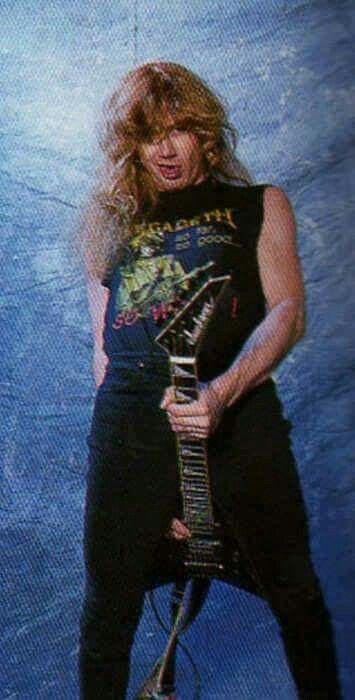 Dave Mustaine rudeness