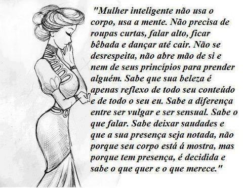 Ser mulher...