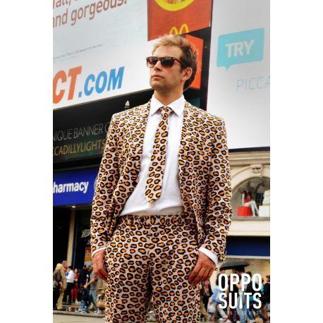 Traje de Leopardo para hombre. Traje #opposuits perfecto para todas tus fiestas. Mercadisfraces tu #tienda de #disfraces online.