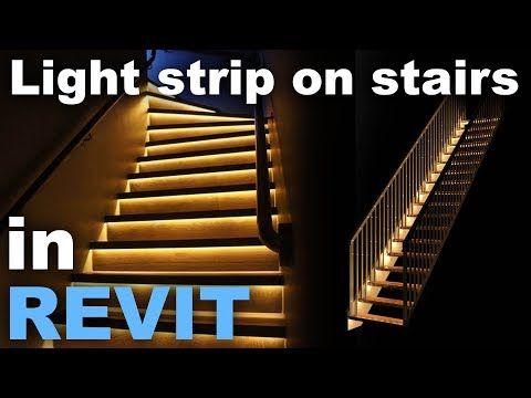 Best Light Str*P In Stairs In Revit Tutorial Youtube Revit 400 x 300